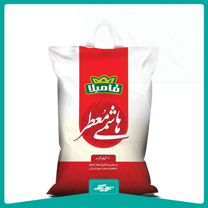 کیسه برنج فامیلا
