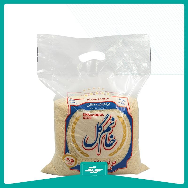 کیسه برنج نایلونی خانم گل