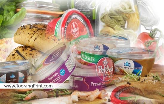 بسته بندی پلاستیکی مواد غذایی