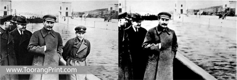 عکس های دستکاریشده تاریخ
