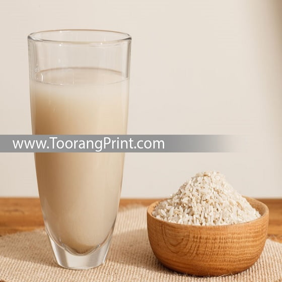 شیر برنج