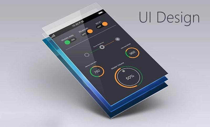 UI طراحی