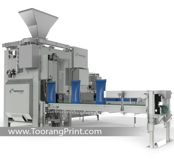 ماشین طراحی و چاپ کیسه برنج