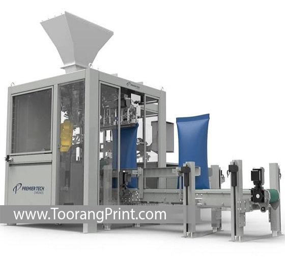 ماشین چاپ و بسته بندی کیسه برنج