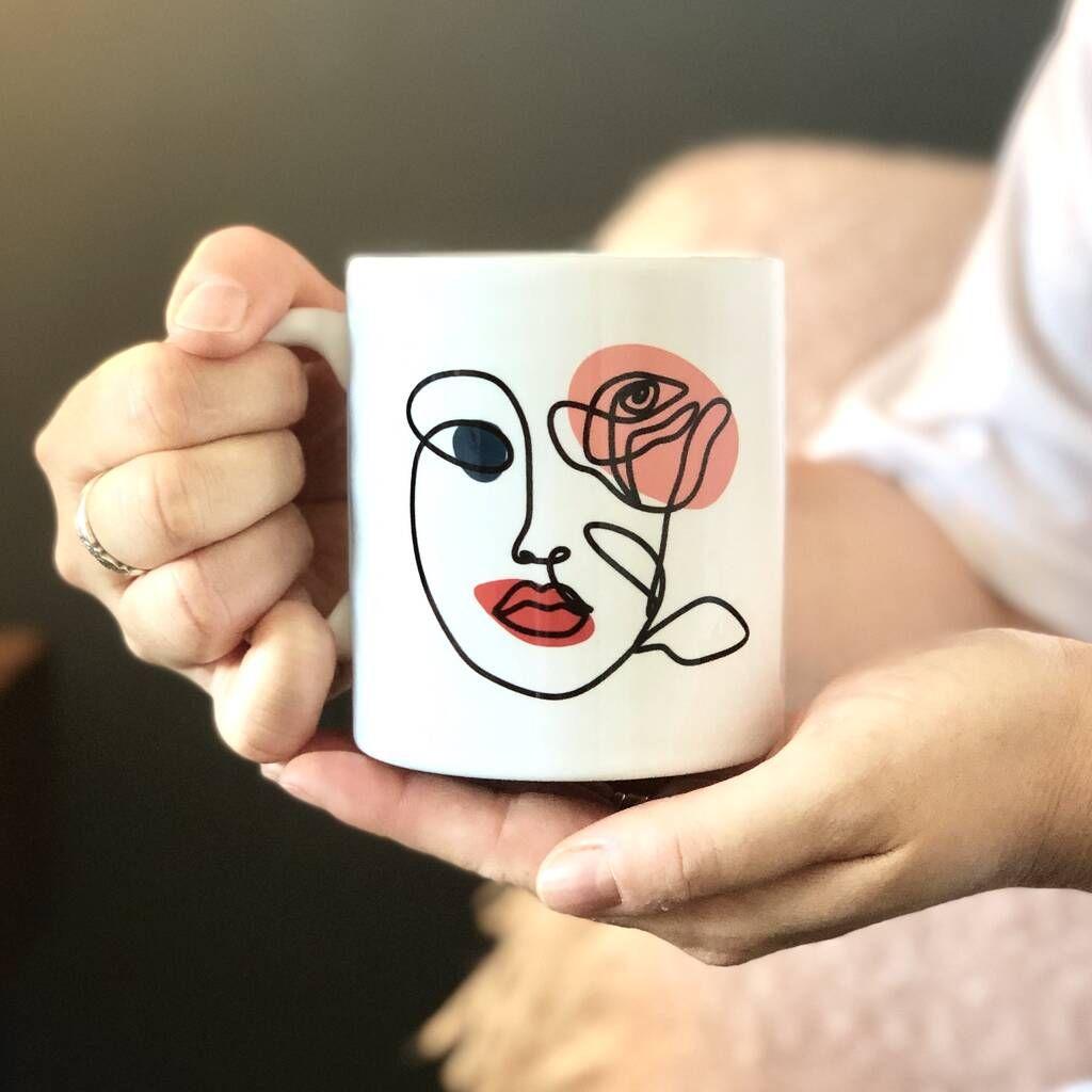 چاپ روی لیوان سرامیکی، چاپ روی لیوان سرامیکی سفید