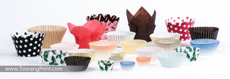 انواع کاغذ کیک