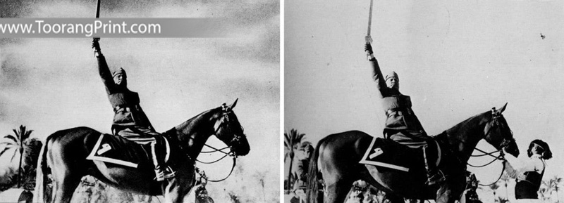 مشهورترین عکس های دستکاریشده تاریخ