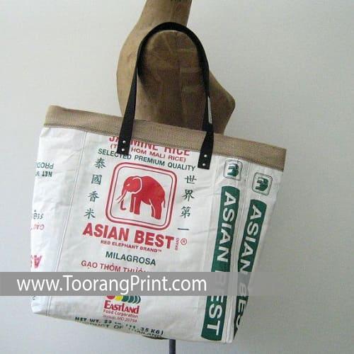 کیسه برنج نخی