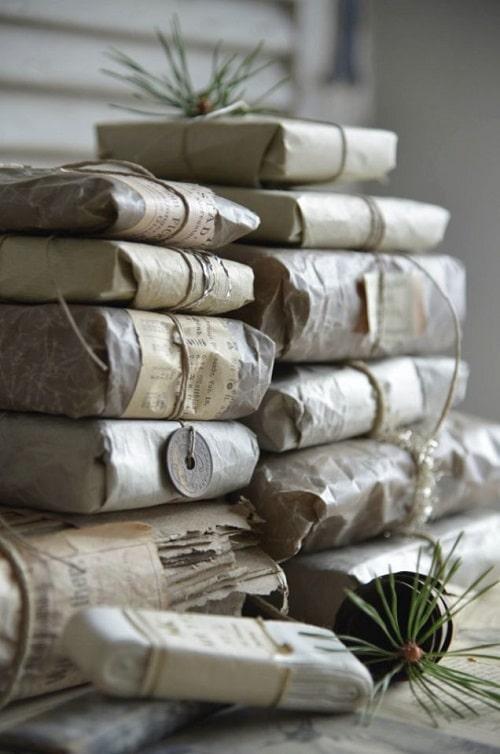 بسته بندی با کاغذ مومی