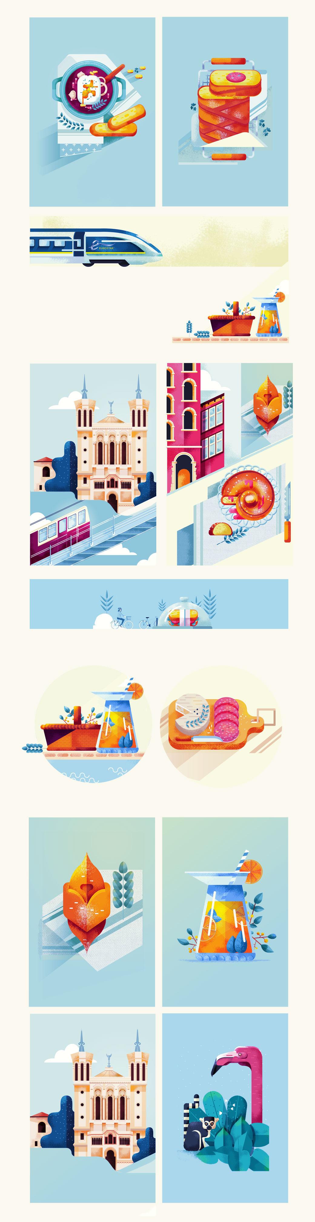 داستان گویی بصری، طراحی گرافیک فرانسه