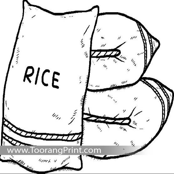 کیسه برنج