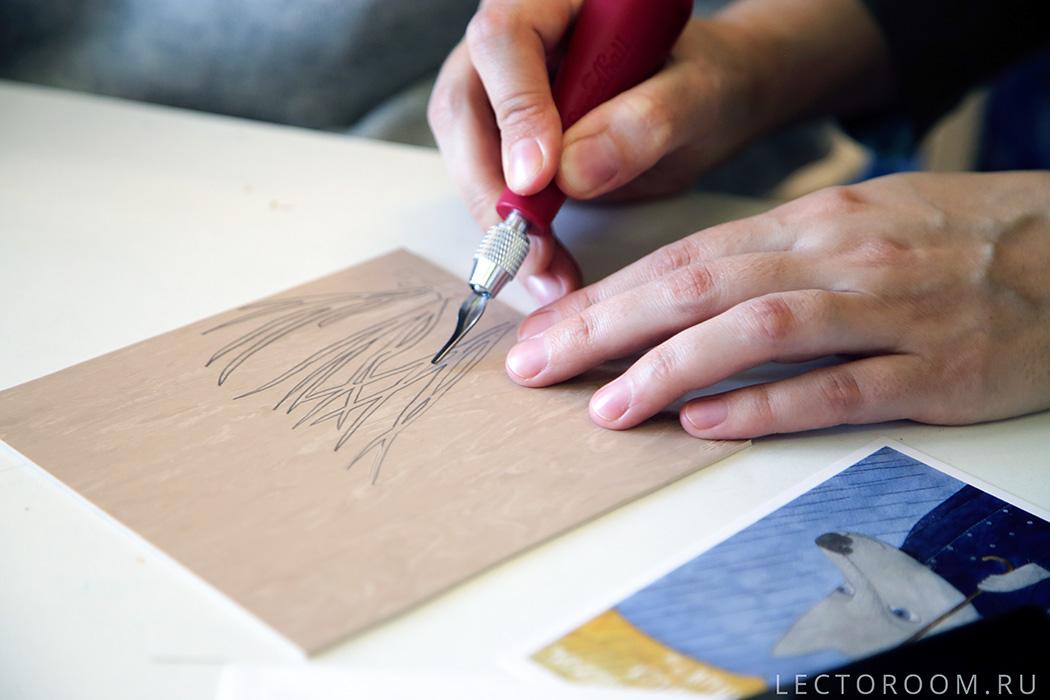 حکاکی، چاپ دستی،