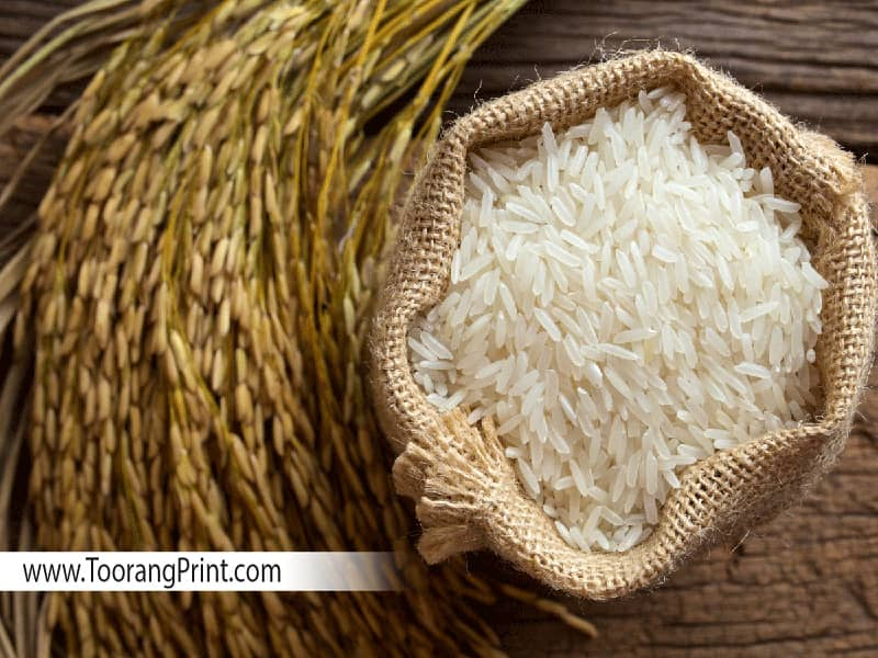 کیسه برنج و گونی برنج