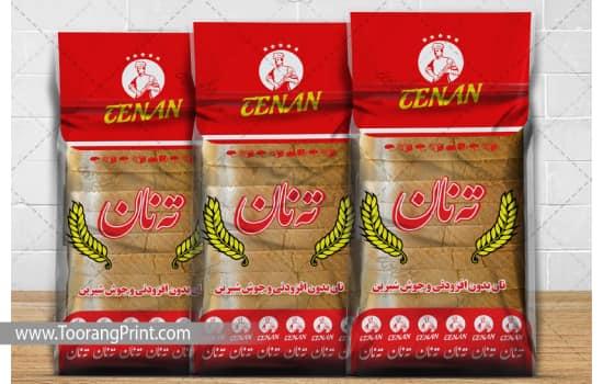 بسته بندی نان