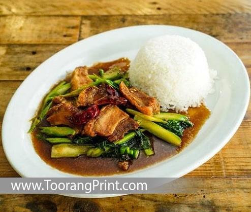 غذاهای برنجی