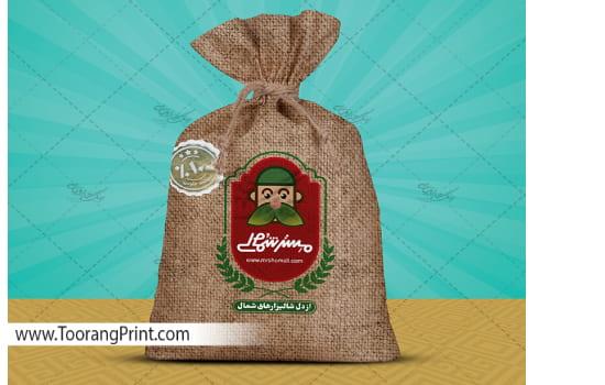 طراحی بسته بندی برنج