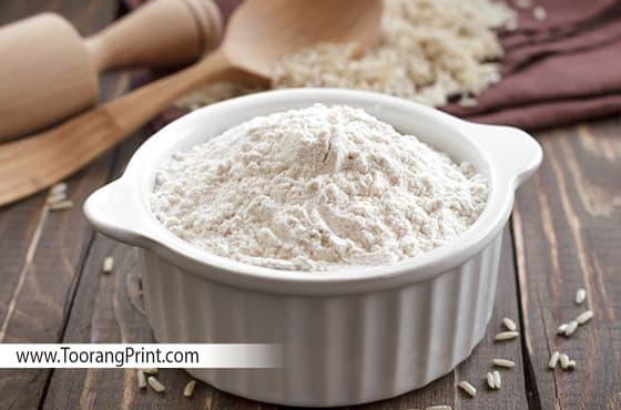 بسته بندی آرد برنج