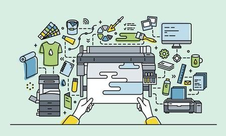 چگونه پروژه هایمان را چاپ کنیم، چاپ آفست و دیجیتال