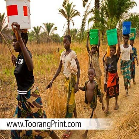 کیسه برنج و برنج در آفریقا