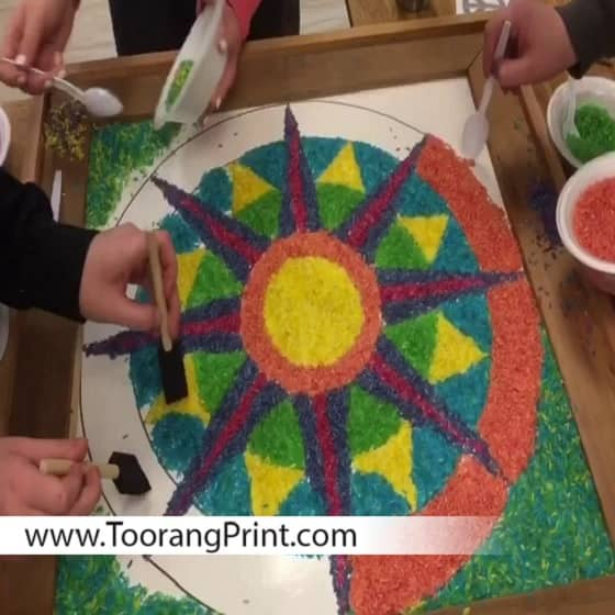چاپ و طراحی کیسه برنج