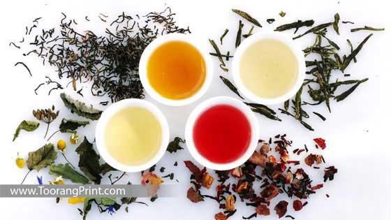 بسته بندی انواع چای